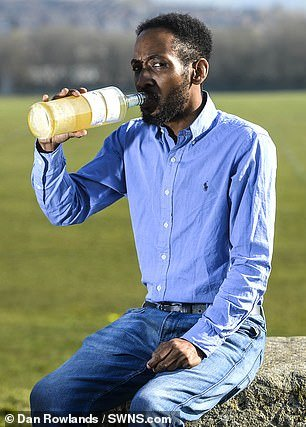 Meet Man Who Drinks his Own Urine Every Day Claims His Health has Improved Greatly