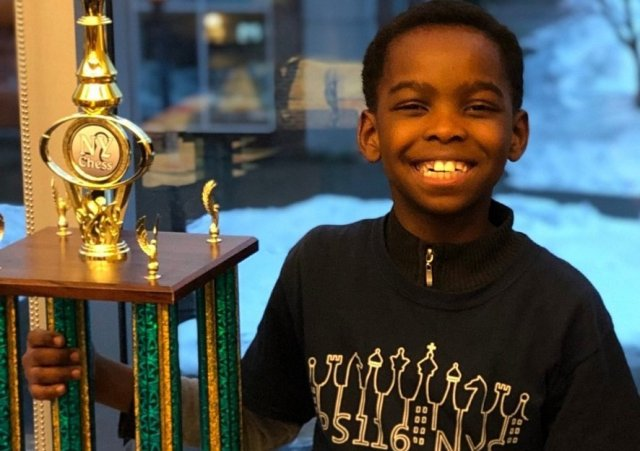 8-Year-Old Tani Adewumi From Nigeria Becomes Chess Champion In New York