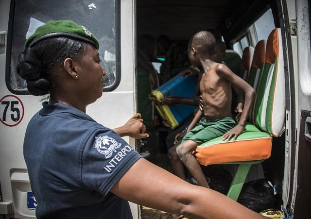 157 Child Slaves in Benin and Nigeria Rescued by Interpol