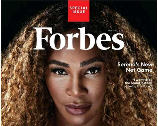 Forbes: Serena Williams  Revealed as ' Highest Paid Female Athlete' 4th Year In A Row