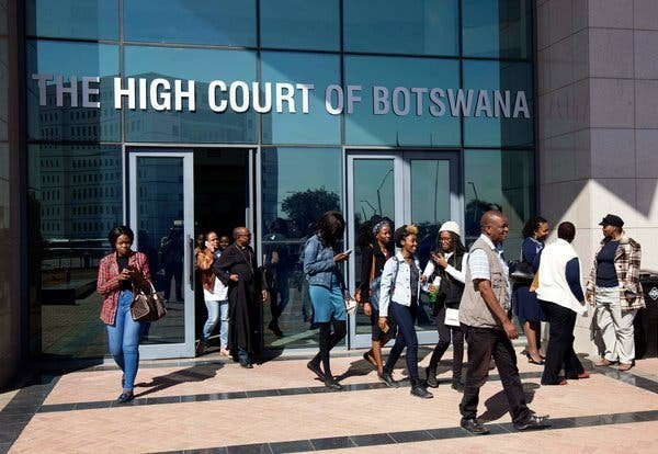 Botswana decriminalizes gay sex in latest LGBT rights