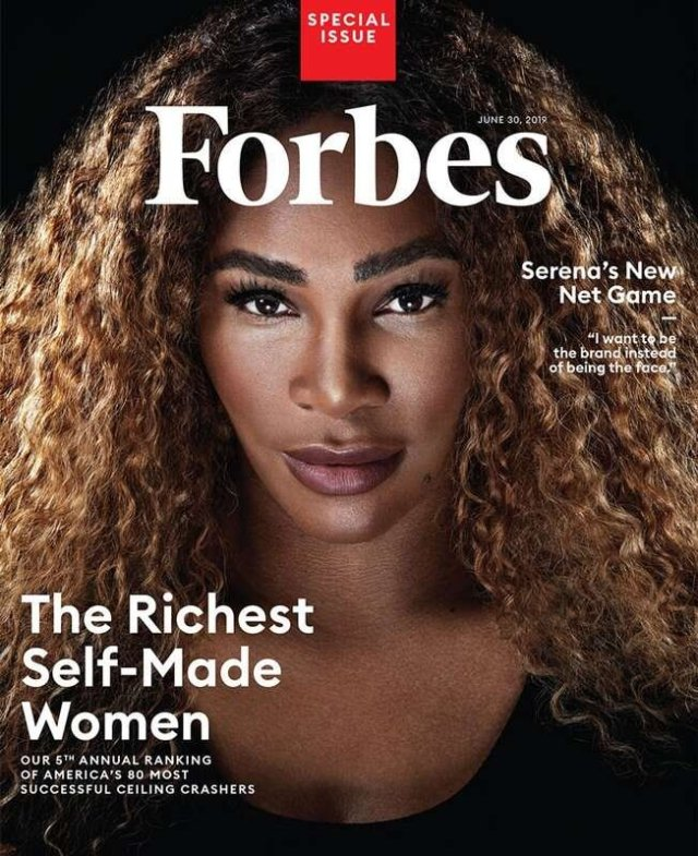 Serena Williams Makes History as 1st Athlete to Make Forbes 'Richest Self-Made Women List