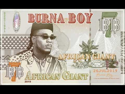 Burna Boy's 'African Giant' Makes History On The UK Albums Chart