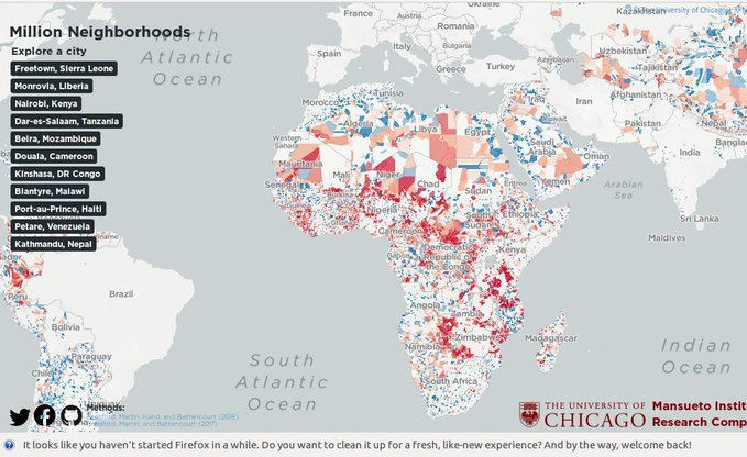 African Slum Map Exposes True Scale of Urban Poverty