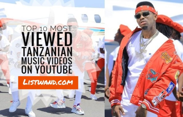 Top 10 Most Viewed Tanzanian Music Videos on YouTube 2019