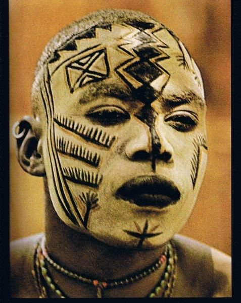 African Face Painting, Significance and Usage