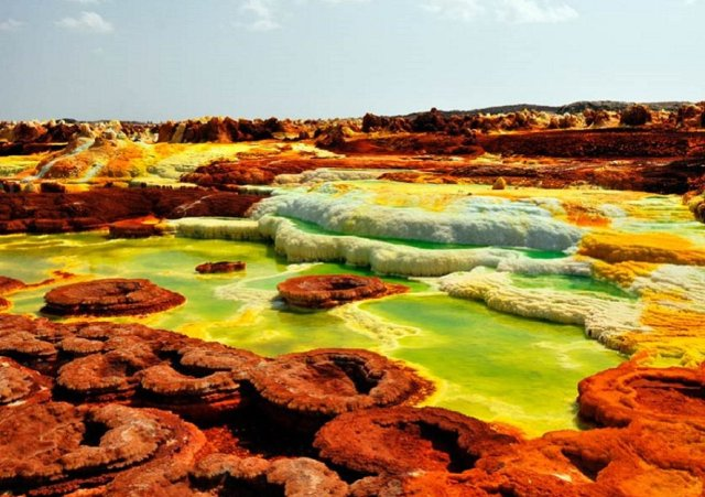 The Dallol Pond: The One place on Earth Where no Life can Exist is in Ethiopia