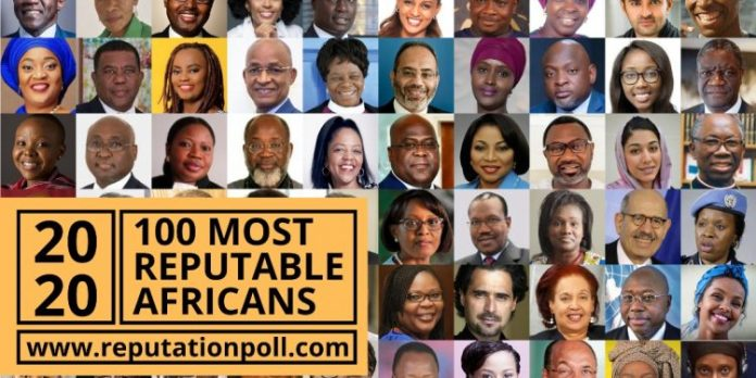 According To Reputation Poll International (PI), These Are The 100 Most Reputable Africans In 2020