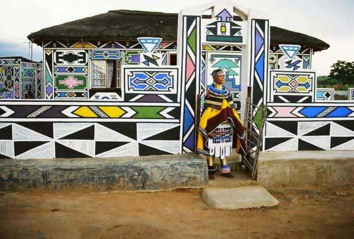 The Ndebele people of Southern Africa