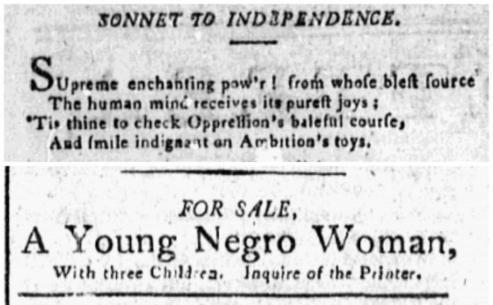 Slave Brokerage: How Early U.S. Newspapers Facilitated The Sales And Purchase Of Slaves