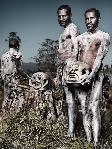 The Legend of the Asaro Mud Men of Papua New Guinea