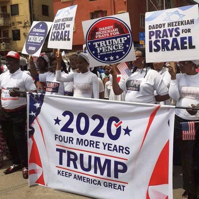 Ahead of US Election, Church in Nigeria Holds Special Procession For Trump