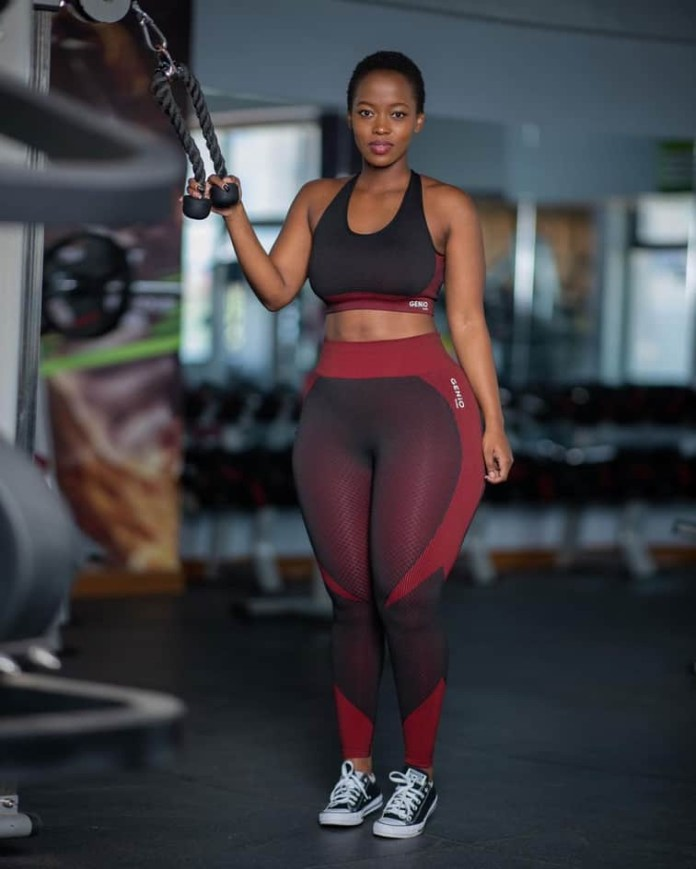most curvy celebrity in Africa
