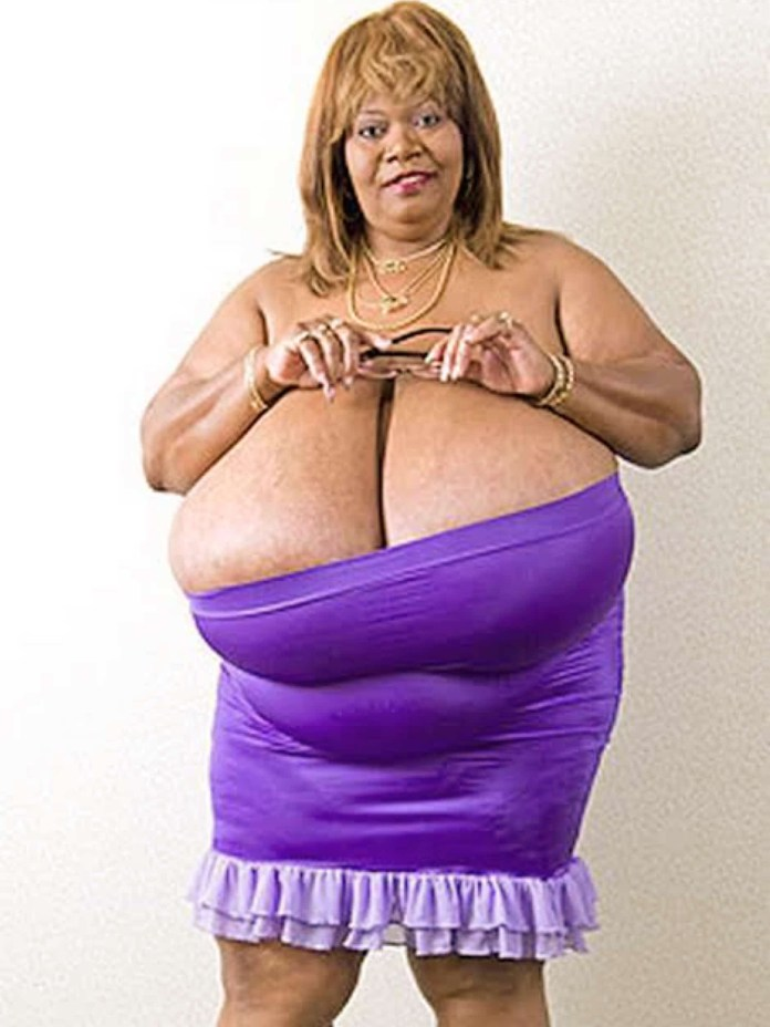 Woman with the largest natural breasts in the world