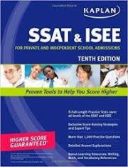 Kaplan SSAT & ISEE: For Private and Independent School Admissions Paperback