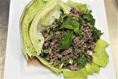 45. Steak Lettuce Wrap