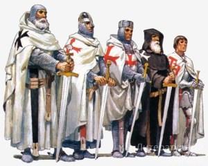 Орден тамплиеров - рыцари Христа и Храма с красным крестом