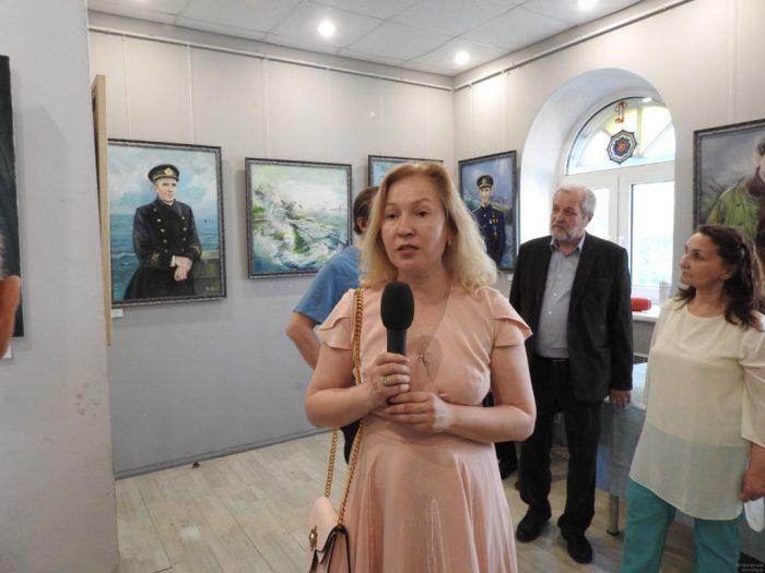 Презентация картин Аиды в музее славянской культуры