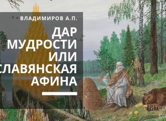 Александр Владимиров: Дар мудрости или Славянская Афина