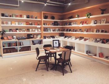 Books, Music, Food, Drink