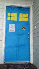 The door to her apartment. Not a bad recreation eh?