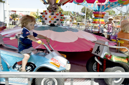 car ride at fair