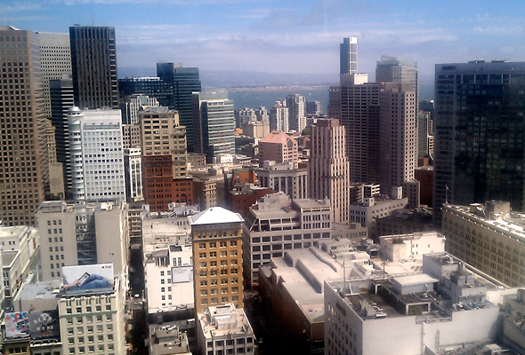 San Francisco from the Westin