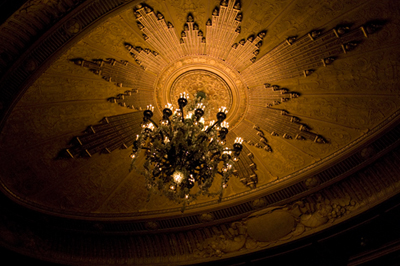 Curran Theatre Ceiling
