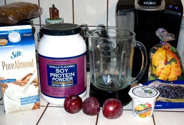 Morning Smoothie Ingredients