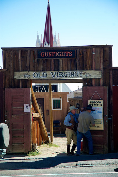 Virginia City Gunfights