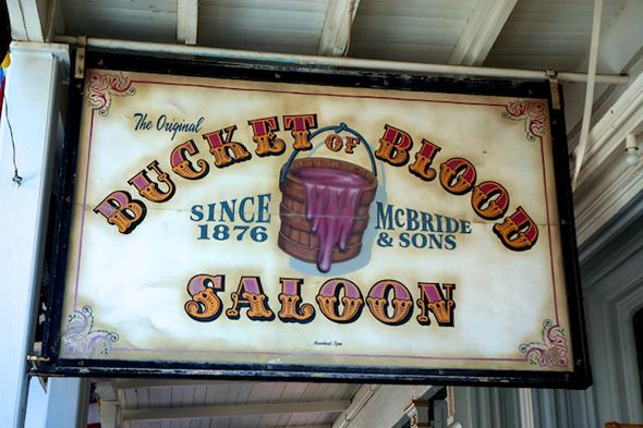 Bucket of Blood Saloon Virginia City