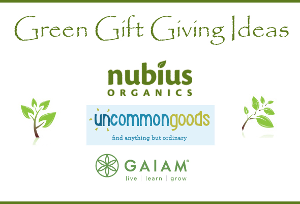 Green Tip Tuesday green gift ideas