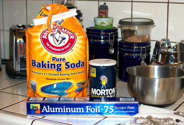 silver jewelry cleaning ingredients