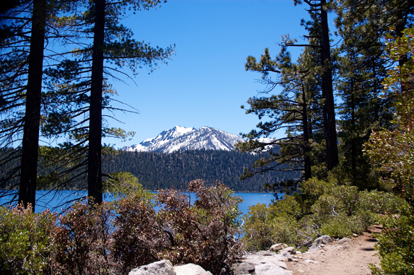 lake view from trail