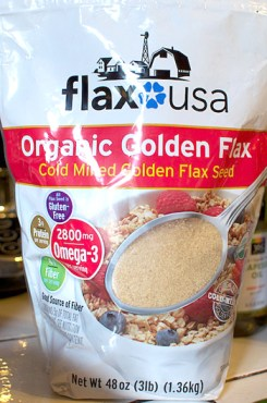 organic golden flax