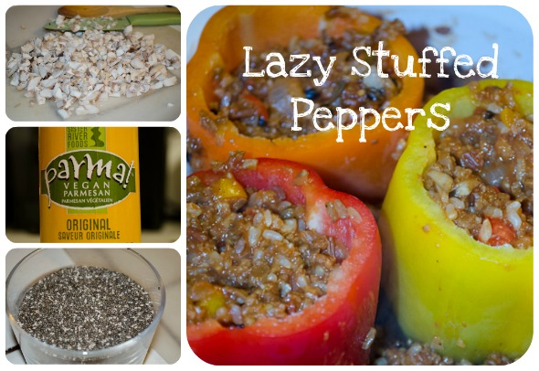 Stuffed Peppers - Lazy Style - Lita's World
