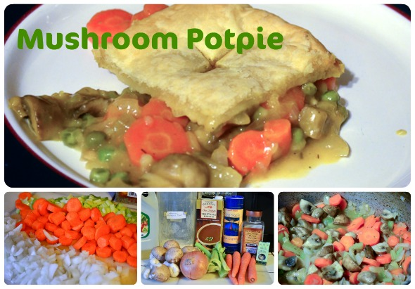 mushroom potpie recipe