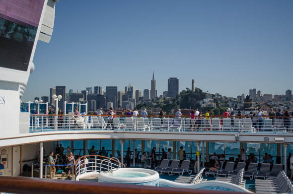 SF from Cruise Ship