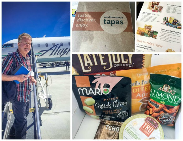 Alaska Airlines Tapas
