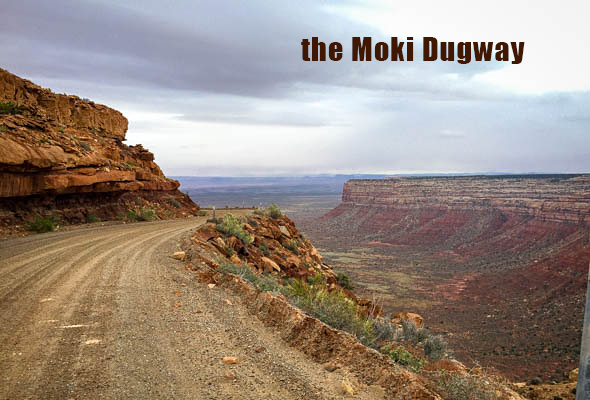Moki Dugway