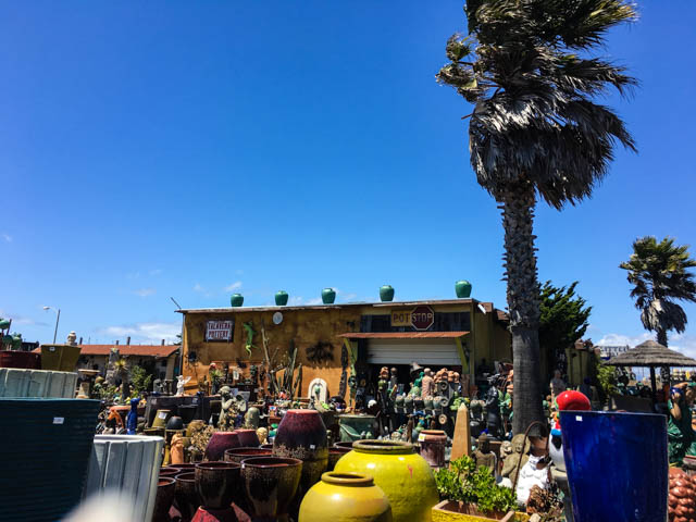 pottery shop in Moss Landing
