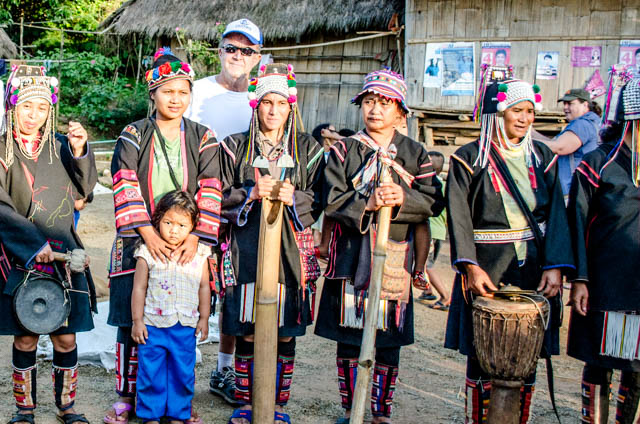 Mae Salong Hill Tribe