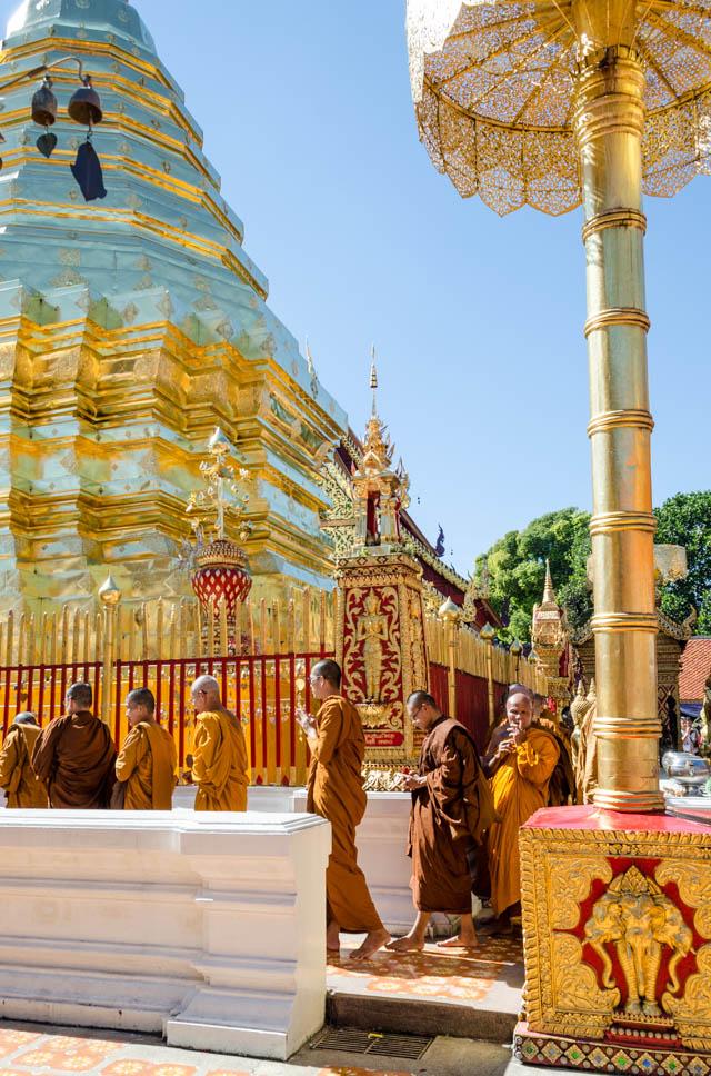 wat in Chiang Mai