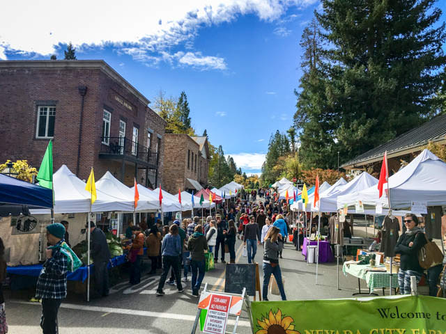 Nevada City Farmer's Market