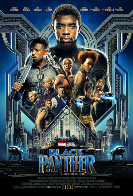 Marvel's Black Panther poster