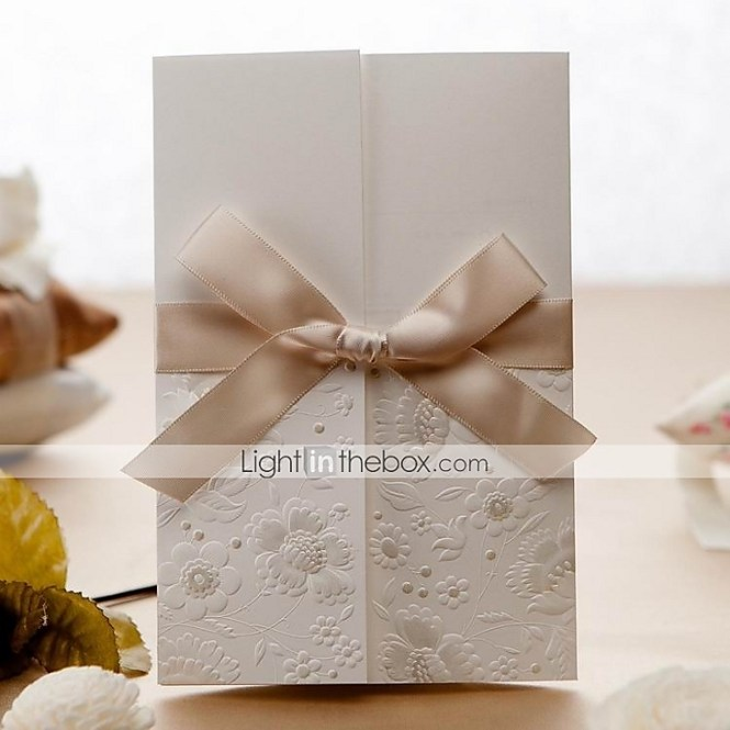 We Just Wrapped Up These Beautiful Tri Fold Wedding Invitations For Rebecca Aaron And Couldn 39 T Be More Pleased With How They Came Out