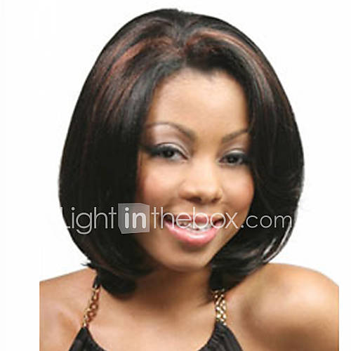 Short Synthetic Wigs Curly Wig For African American Black