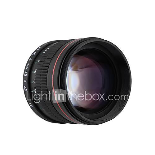 85 milímetros f1.8-f22 lente de foco retrato lente da câmera manual para Canon EOS 550D 600D 700D 7d 60d câmeras DSLR 6d 5d Canon EOS 80D DSLR Camera Canon EOS 80D DSLR Camera aaddsx1475982787146