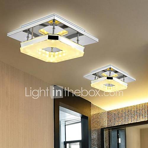 8 Flush Mount Modern Contemporary Electroplated Feature