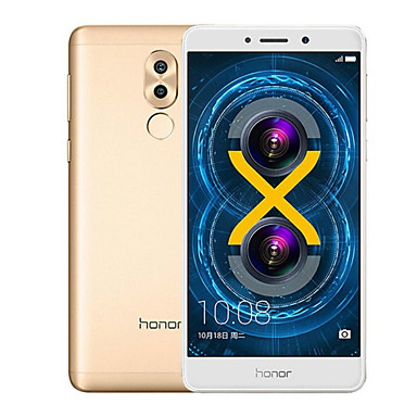 HUAWEI® Honor 6X 5.5 2.5D Android 6.0 4G Smartphone (Dual SIM Octa Core 12MP Dual Came 4GB+64GB) Metal Fingerprint